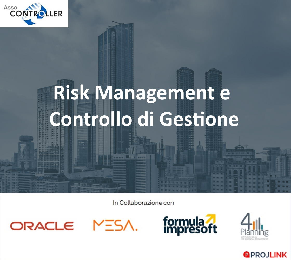Evento Assocontroller su Risk Management e controllo di gestione: MESA tra gli speaker